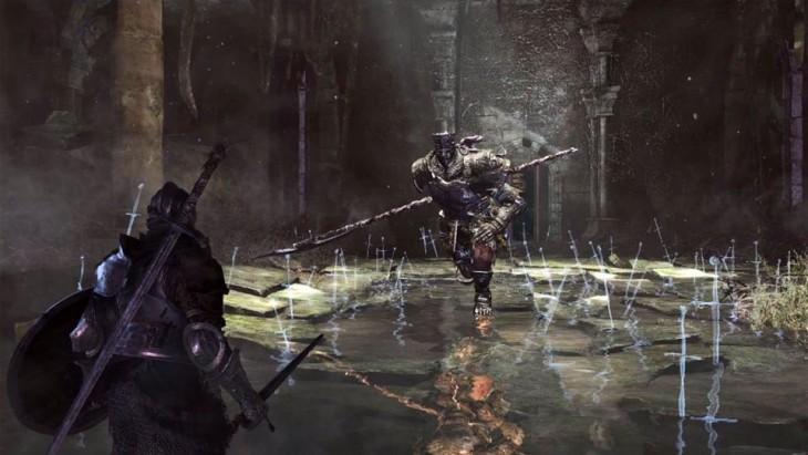 Escena de Dark Souls 3 para PS4