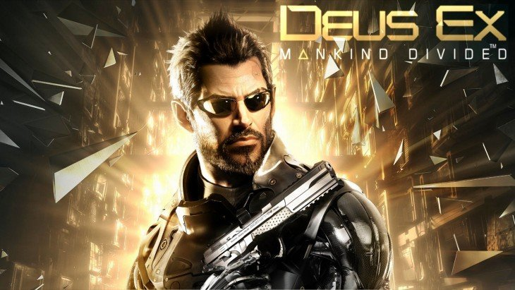 Cartel de Deus Ex Mankind Divided