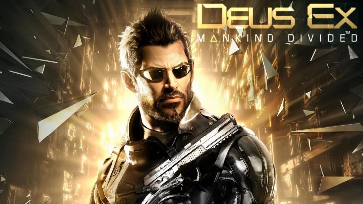 Cartel de Deus Ex Mankind Divided