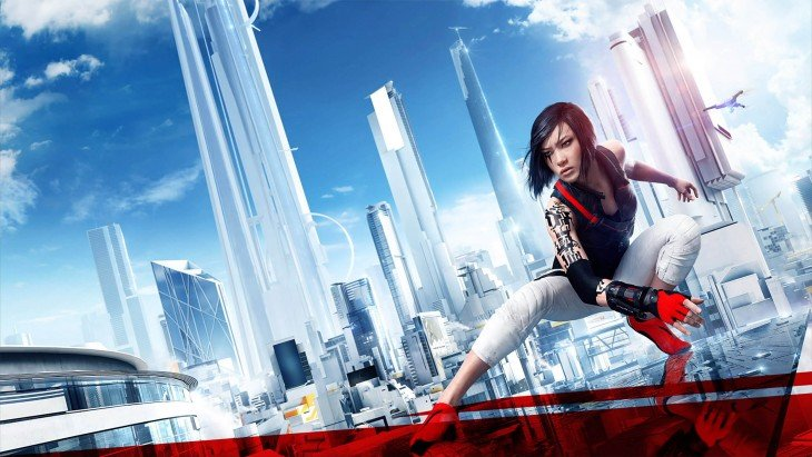 Faith, protagonista de Mirrors Edge