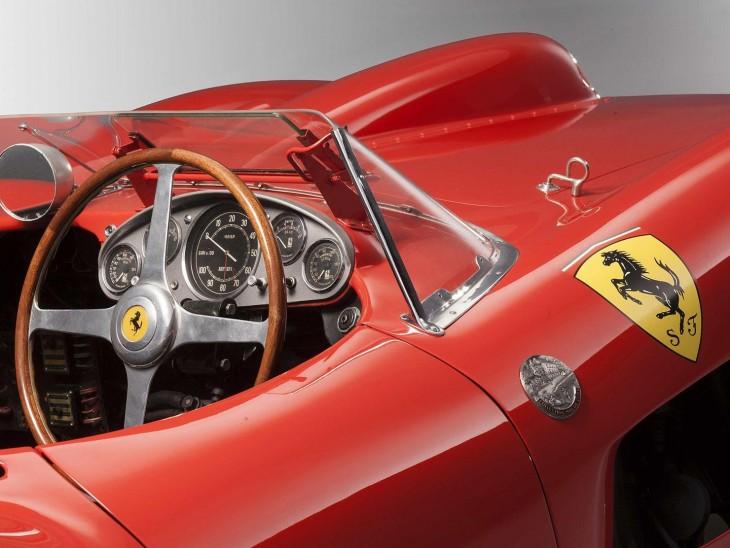Ferrari 335 S Spider Scaglietti perfil 3/4