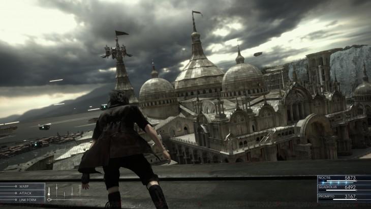 Escena de Final Fantasy XV