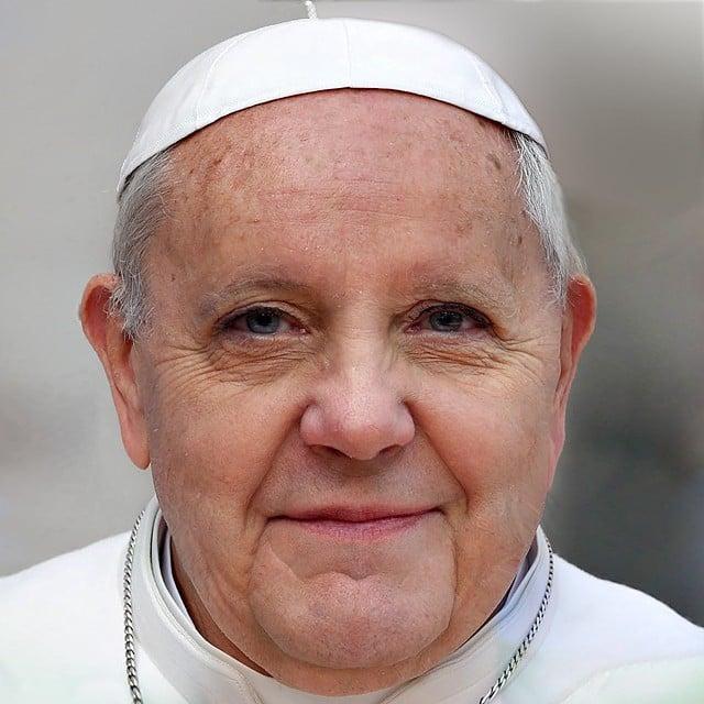 Angela Merkel y el Papa Francisco