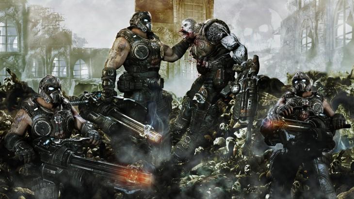 Escena de Gears of War
