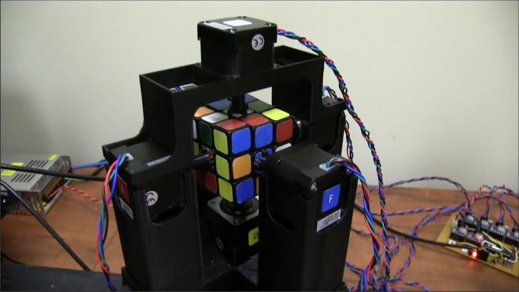 robot rubik