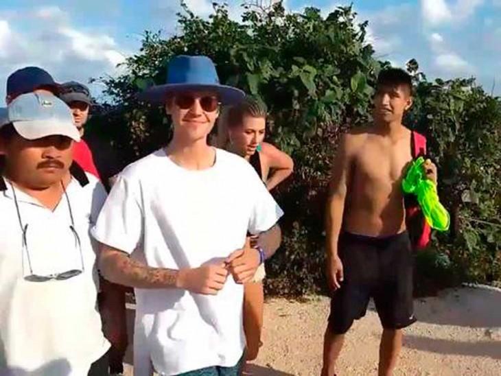 Expulsan a Justin Bieber de las ruinas mayas de Tulum