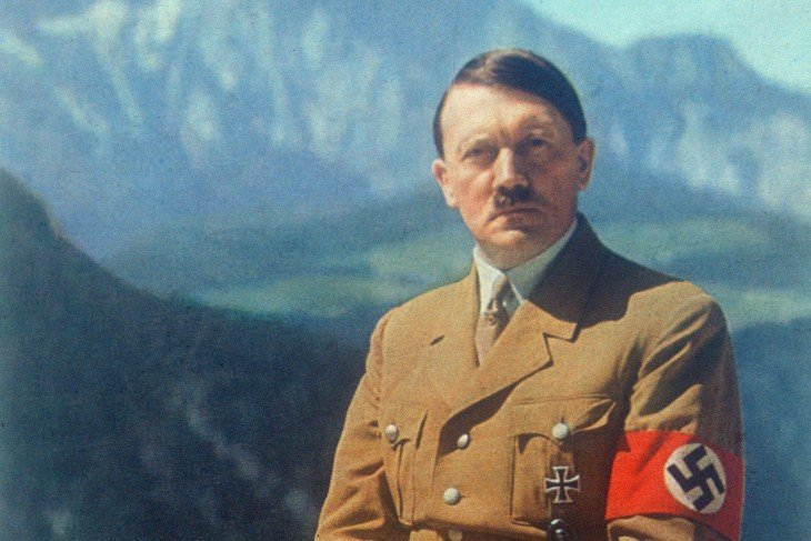 Foto de Hitler a color