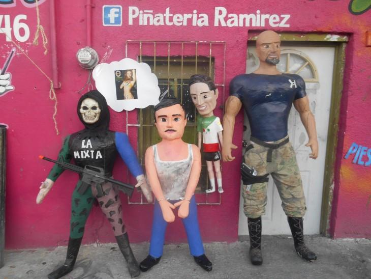piñata de El Chapo