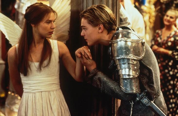 Escena de la película Romeo + Julieta