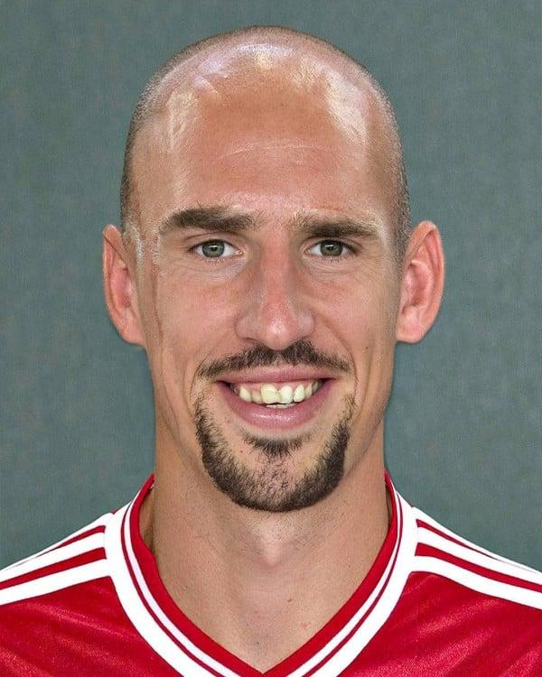 Arjen Robben y Franck Ribéry