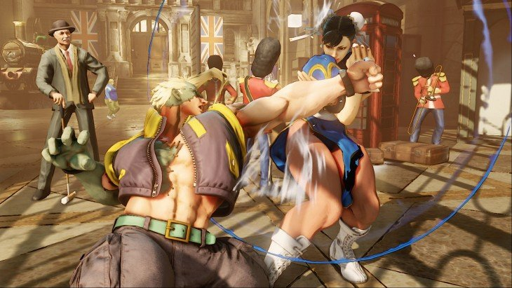 Escena de Street Fighter V