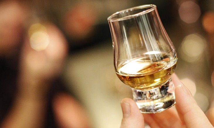 Shot de whiskey