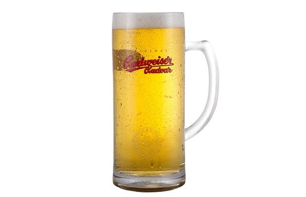 Tarro cervecero de la marca Budvar