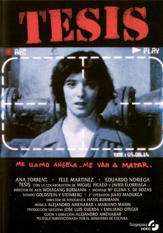 Cartel de la película Tesis