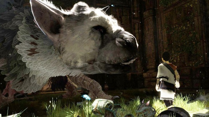 Escena de The Last Guardian