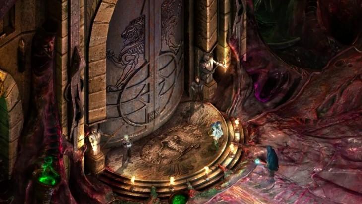 Escena de videojuego Torment