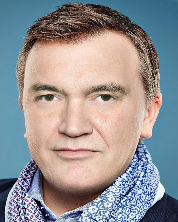 Quentin Tarantino y Hape Kerkeling