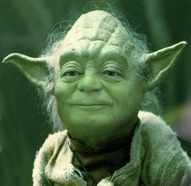 Yoda y Joachim Gauck (Presidente de Alemania)