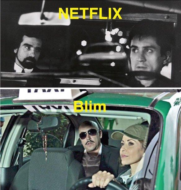 memes de Netflix vs. Blim
