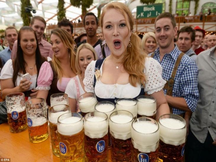 Fuente cerveza