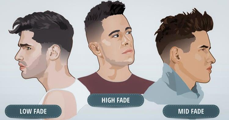 Cortes de pelo para hombre con fade
