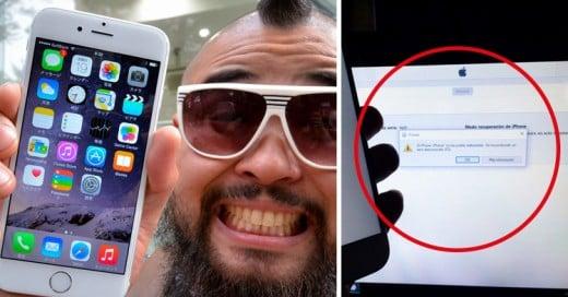 Si te aparece el 'Error 53' en tu iPhone… ¡Prepárate para lo peor!