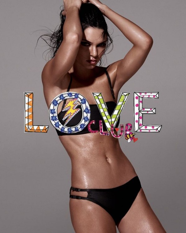 Kendall Jenner revista love