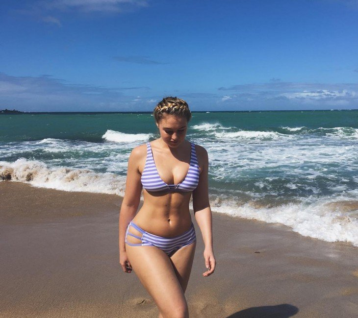 Fotos de Iskra Lawrence en instagram