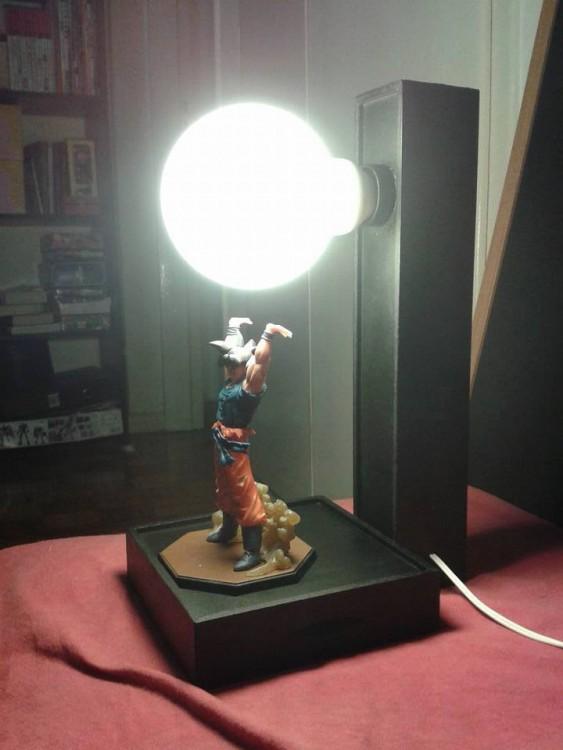 lámparas de Dragon ball