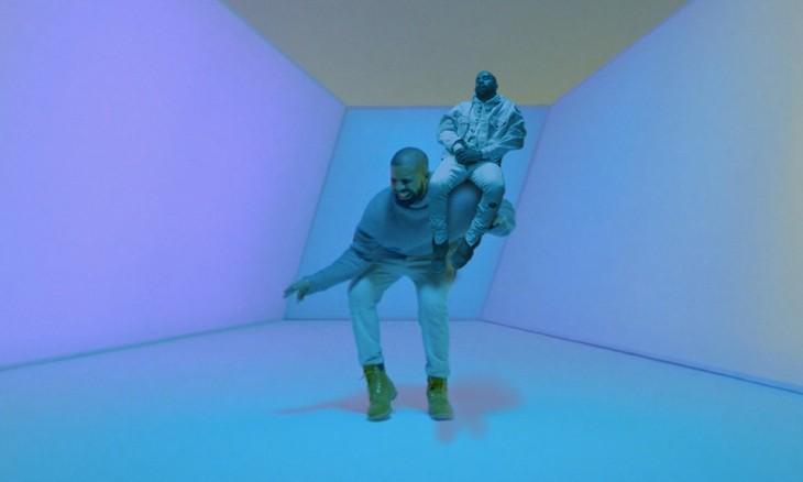 Kanye West dormido bebé photoshop bailando