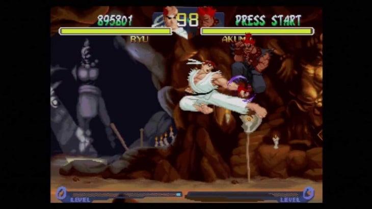 Ryu vs Akuma SF Alpha