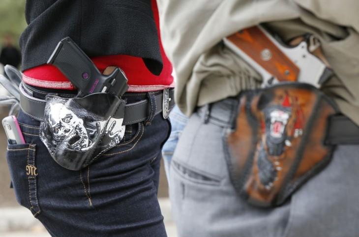 Armas en Universidad d eTexas