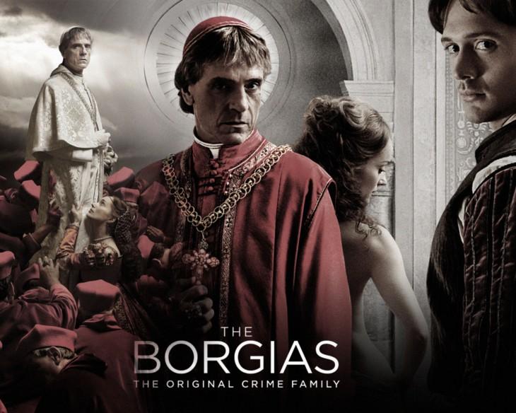 Cartel de Los Borgia