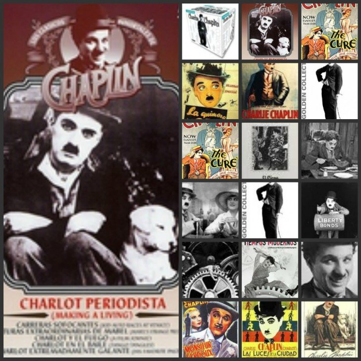 Charlot, periodista, de Chaplin