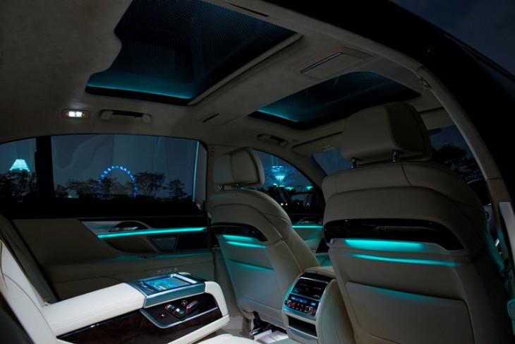Cielo virtual en un BMW