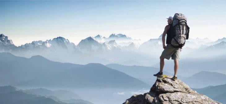 desafios hombre montaña