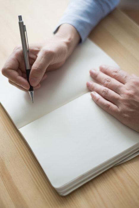desafios hombre escribir