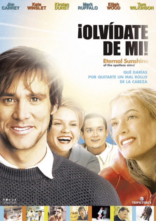 Cartel en España de Eternal Sunshine of the Spotless Mind