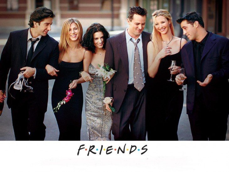 Cartel de Friends