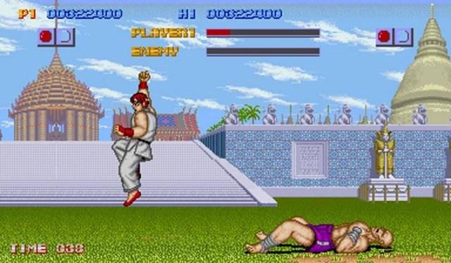 Ryu vs Sagat en SF