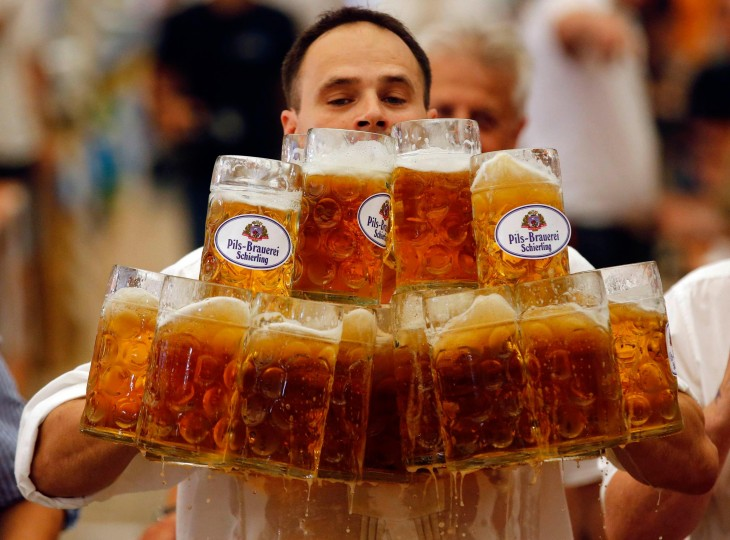 Cerveza en jarra