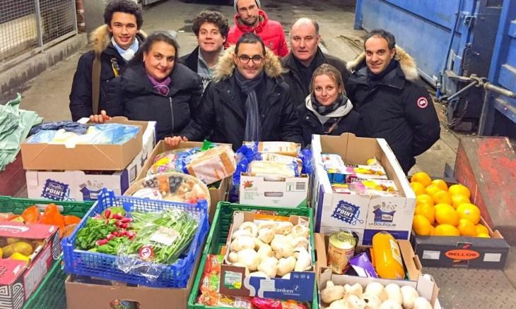 Donación supermercados francia