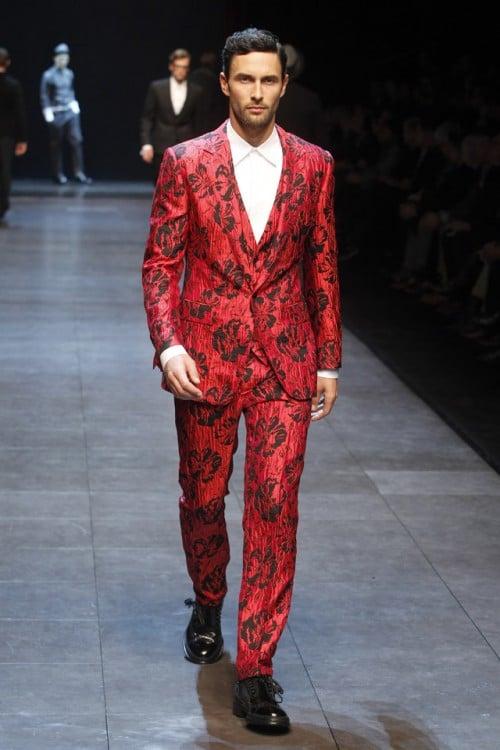 Hombre moda exótica