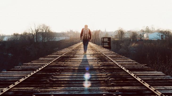 Caminante por vías