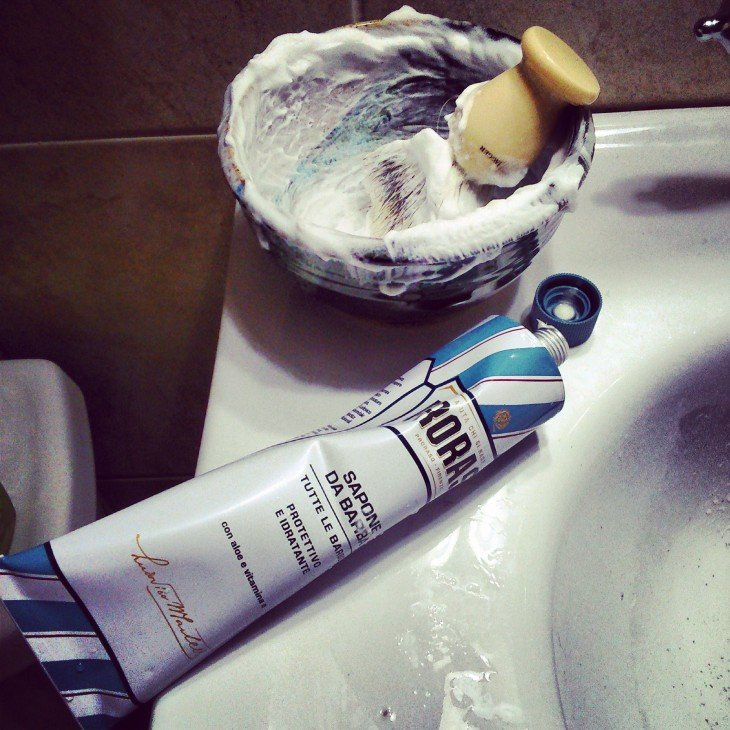 Crema de afeitar