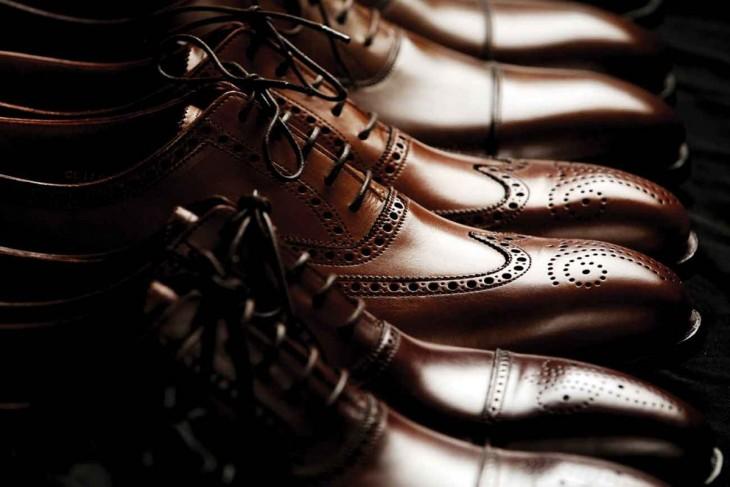 Zapatos limpios