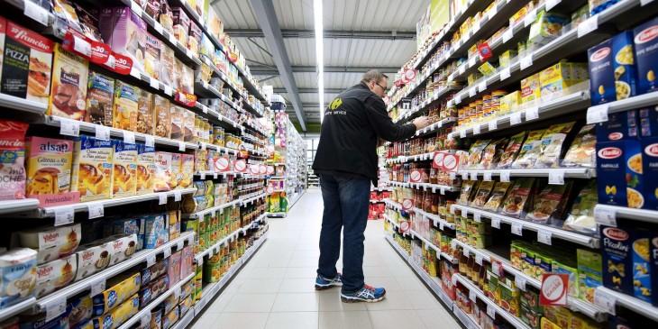 Supermercado Francia donaciones