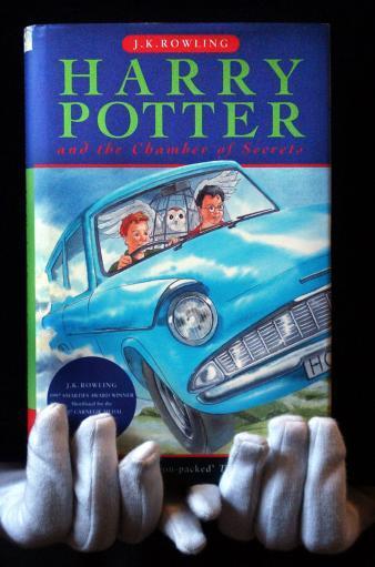 Primera Edición de Harry Potter y La Cámara Secreta