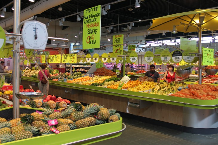 Supermercados Francia donaciones