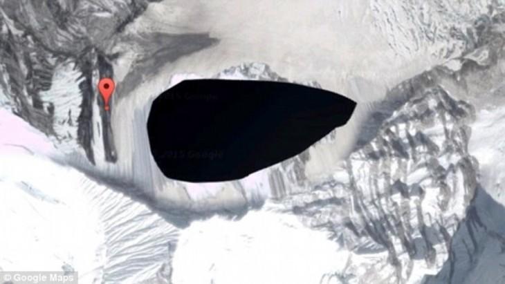 Imágenes censuradas de Google Earth